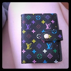 LV cute business card holder